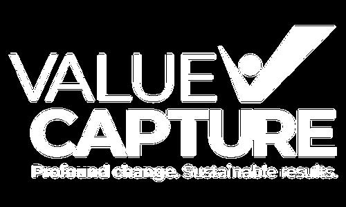 Value Capture White Logo Transparent 500