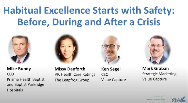 Habitual Excellence Starts with Safety Before During and After a Crisis